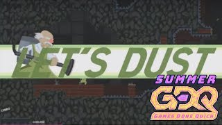 Dustforce DX Race of fishmcmuffins v Freshmaniac in 35:58 - SGDQ2018