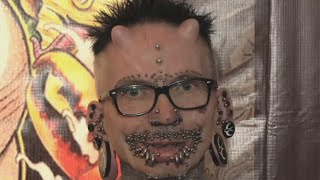 'People should accept those who look different' World's most pierced man at  Venezuelan tattoo expo