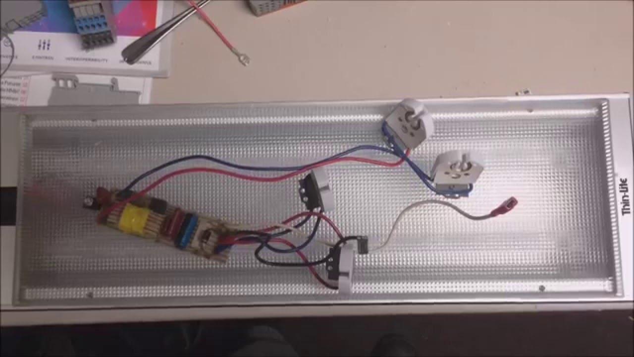 RV LED Lighting Upgrade from fluorescent & RV LED Lighting Upgrade from fluorescent - YouTube azcodes.com