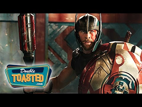 THOR RAGNAROK (2017) OFFICIAL MOVIE TRAILER #1 REACTION - Double Toasted Review
