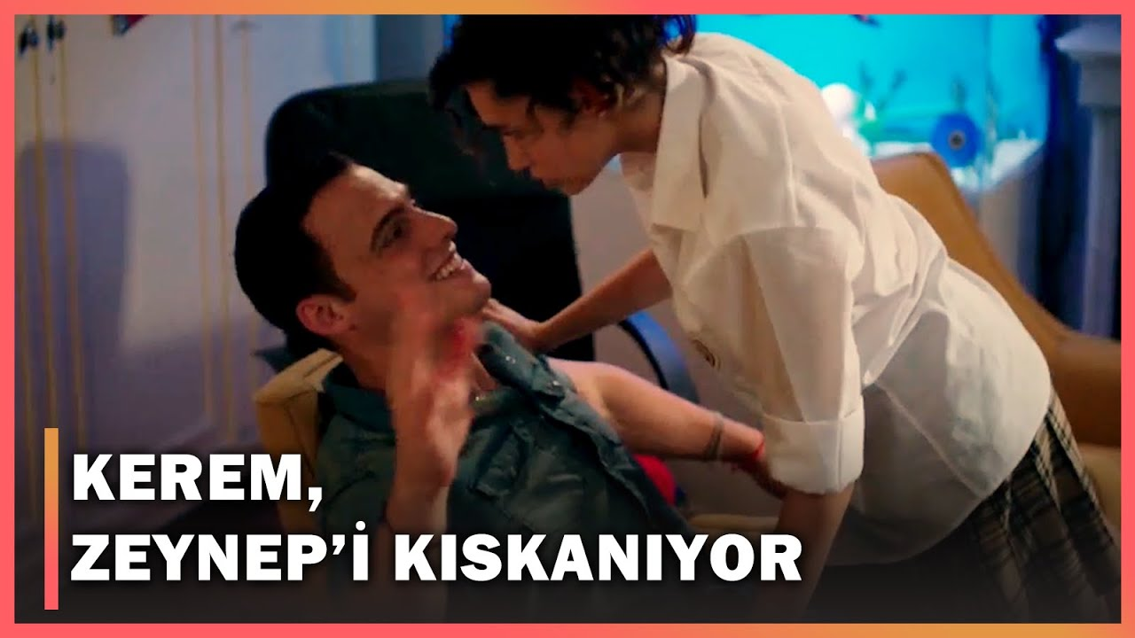 Kerem, Zeynep'i Kıskanıyor! - Güneşi Beklerken 10.Bölüm