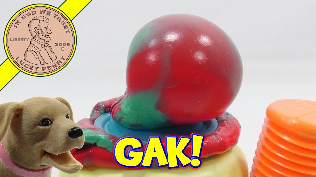 nickelodeon gak inflator pump it pop it youtube