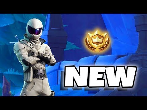 FOLLOW THE TREASURE MAP FOUND IN SNOBBY SHORES - FREE BATTLE STAR CHALLENGE  LOCATION - fortnite