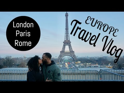 EUROPE TRAVEL VLOG | LONDON, PARIS, ROME | lovekenziie