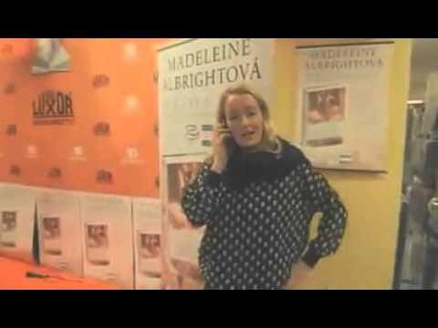 BOMBARDÉRKA MADELEINE ALBRIGHTOVÁ