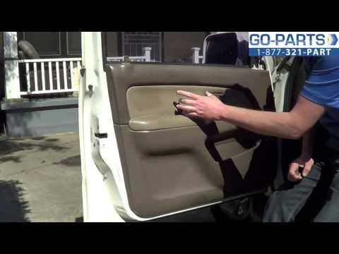 Toyota tacoma door panel removal part 3 interior door h for 1999 honda civic window crank handle