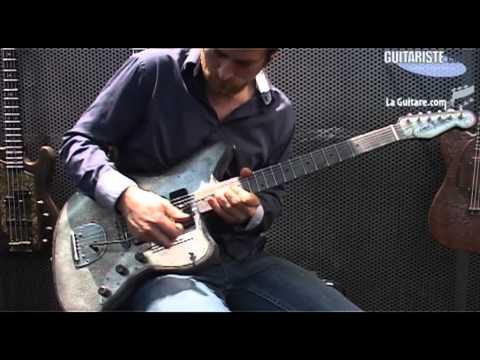 MusikMesse 2012 - Trussart Steelmaster par Brice Delage