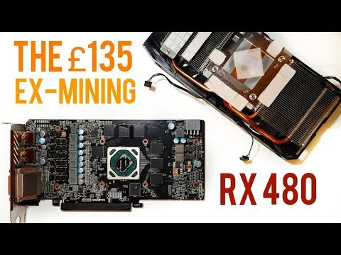 The £135 RX 480 - Buying A Used / Ex Mining Graphics Card #rx480