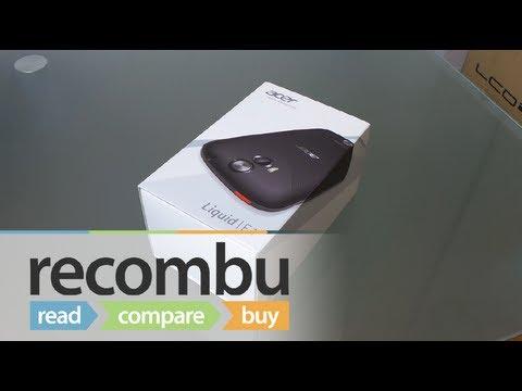Acer Liquid E1 unboxing video