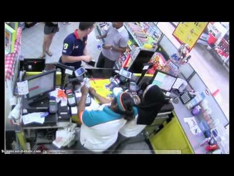 Incident at Caltex on 20th April 2014.
