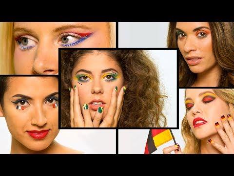 FIFA World Cup Makeup