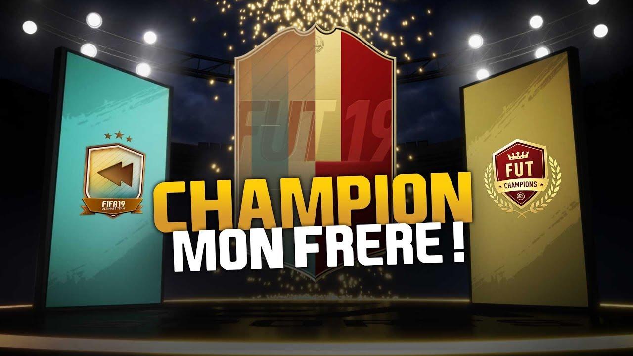 PACKS FUT CHAMPION MON FRÈRE !