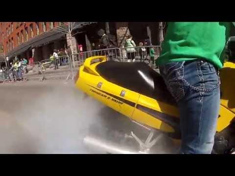 2015 Denver St.Patrick's Day Parade CO Sportbike Edition