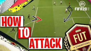 FIFA 20 HOW TO ATTACK | THE 3 TRICKS TO ATTACKING IN FIFA 20 | HOW TO SCORE MORE GOALS IN FUT 20