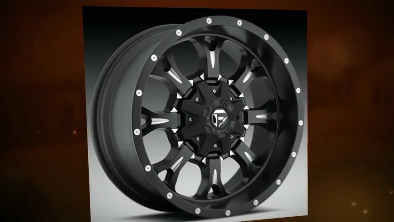 Fuel Truck Wheels >> Fuel Off-Road Wheels Krank Black Machined - YouTube