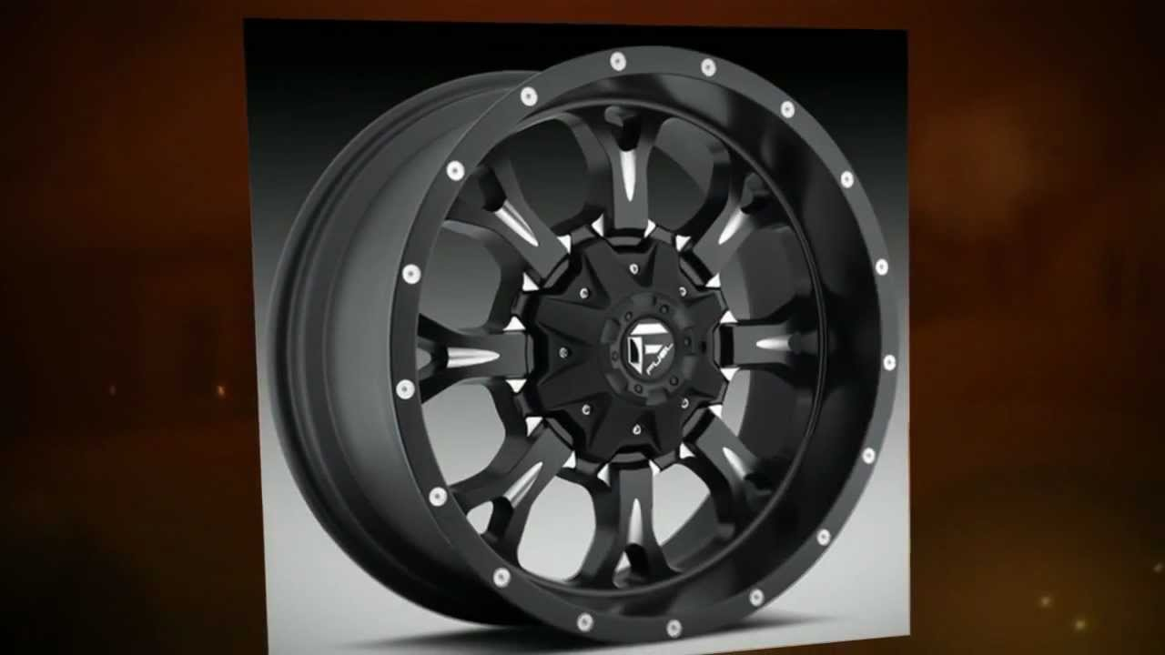 Fuel Off Road Wheels Krank Black Machined Youtube