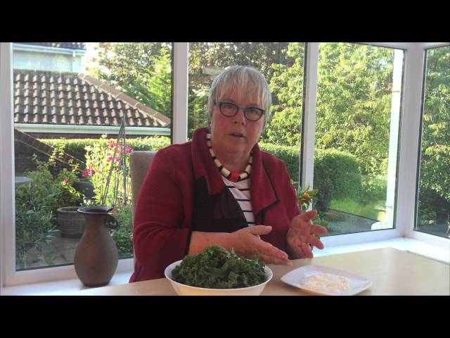Video about cooking Kale with Coconut