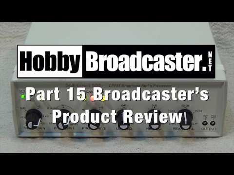 Schlockwood 200 LPAM Broadcast Audio Processor Video Review