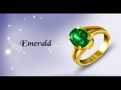 Zambian Emerald Ring for Mercury Powers in Vedic Astrology