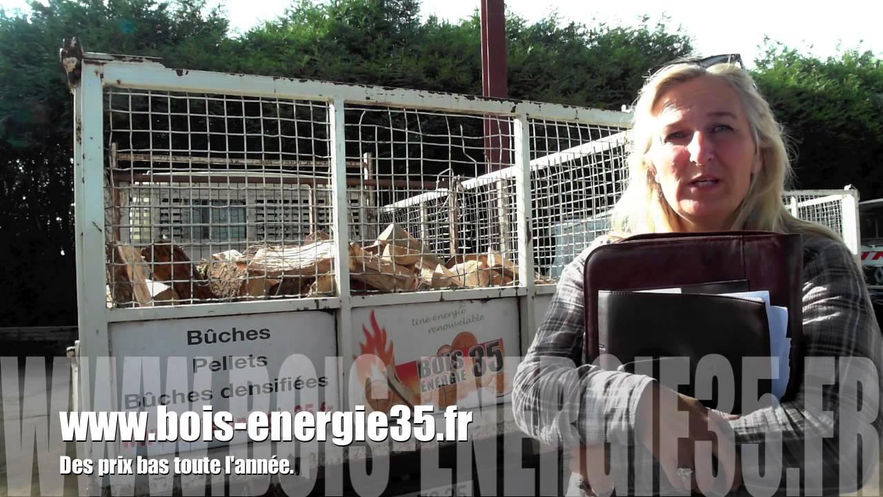 BOISÉNERGIE 35 votre spécialiste du bois de Chauffageà Rennes YouTube # Bois De Chauffage Rennes