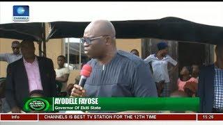 Fayose Opens New Market Stalls In Ado-Ekiti   News Across Nigeria  