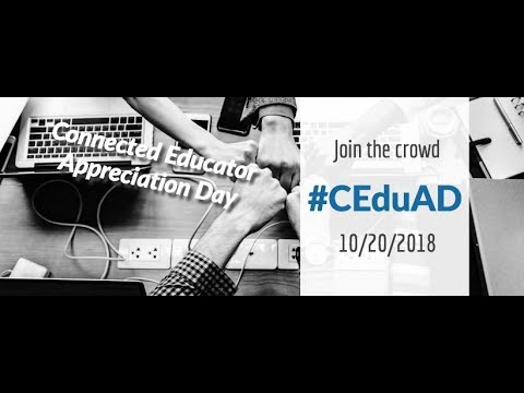 #CEduAD Session 2, Using Technology to Connect Outside the Classroom