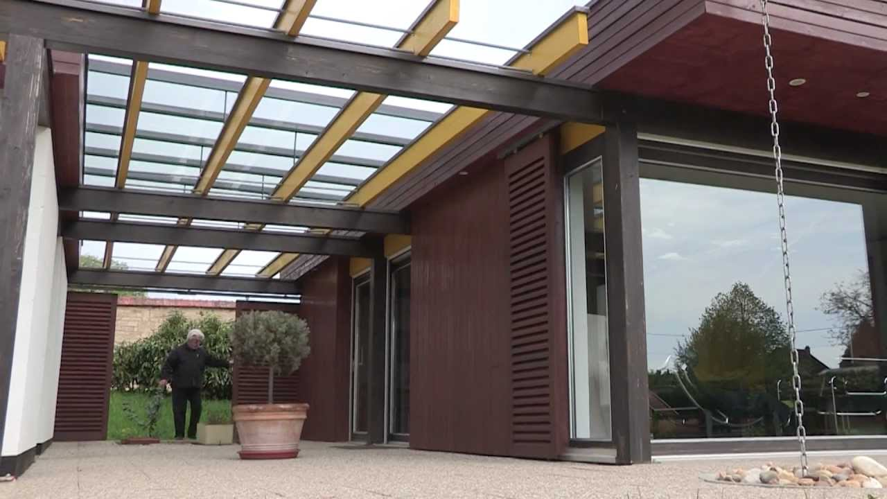Maison d 39 architecte youtube for Maisons architecte