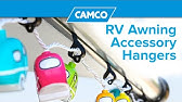 Rv Awning Rope Light Clips Youtube