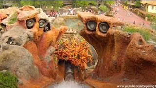 Splash Mountain Front Row POV Magic Kingdom Walt Disney World HD