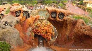 Splash Mountain Front Row POV Magic Kingdom Walt Disney World HD