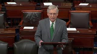 McConnell Urges Democratic Colleagues to Get Past Harmful Political Games