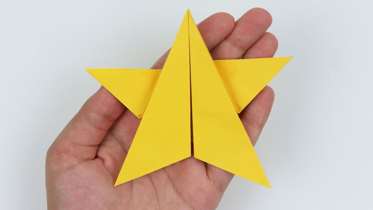 How To Make Simple Easy Origami Paper Star Diy Paper Craft Ideas