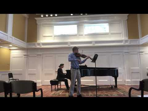 Excerpt From The Hoffmeister Viola Concerto In D Major (Rivera Hall)