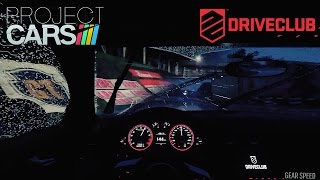 DRIVECLUB VS Project CARS | Graphics, Sound, Weather effects, Gameplay Comparison