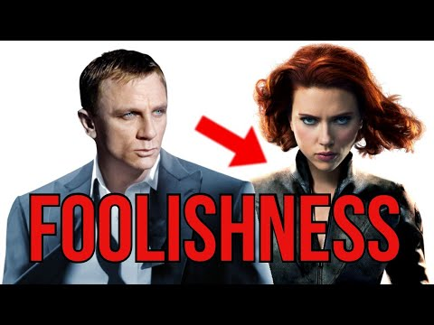 Women are not Men   The Foo*ishness of a Woman Playing James Bond   Black Widow Movie is MEH