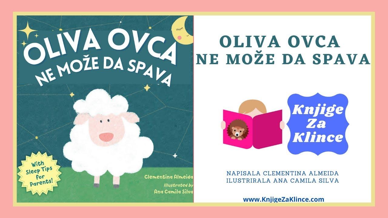 Oliva Ovca Ne Može Da Spava - AudioKnjiga/Slikovnica za Djecu - Knjige za Klince