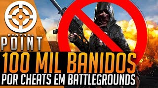 100 MIL PLAYERS BANIDOS EM PUBG! DATA DE RED DEAD 2 E MUITO MAIS - CENTRAL POINT