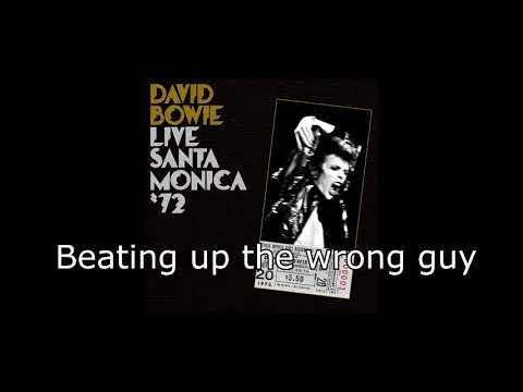 Life on Mars? (Live Santa Monica '72) | David Bowie + Lyrics