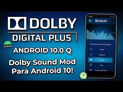 COMO INSTALAR O DOLBY SOUND MOD NO ANDROID 10 Q! | Dolby Digital Plus/Dolby Atmos Para Android 10