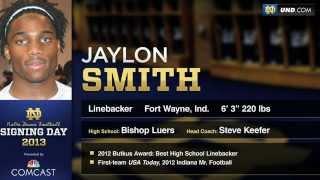 Jaylon Smith - 2013 Notre Dame Football Signee