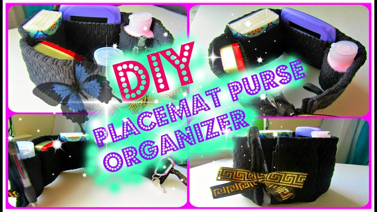 Diy placemat purse organizer youtube diy placemat purse organizer solutioingenieria Choice Image