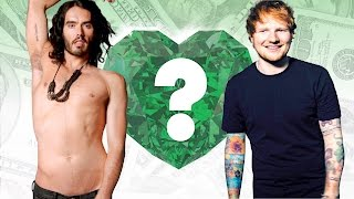 WHO'S RICHER? - Russell Brand or Ed Sheeran? - Net Worth Revealed!