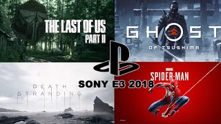 Every New Game Introduced in Sony's E3 Remix | E3 2018