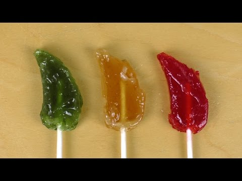 Hot Crazy Candy Pops