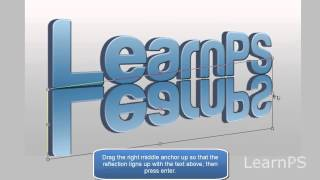 Creat 3D Text in Photoshop CS3