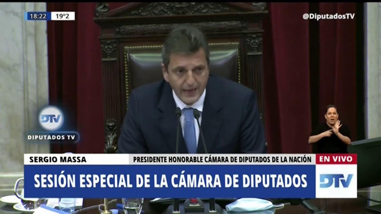 Suspendieron al diputado Juan Emilio Ameri por manosear a una mujer durante la Sesión virtual