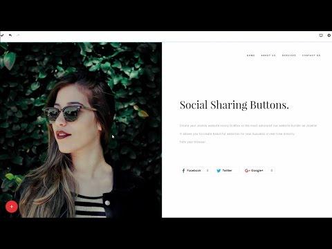 Social Sharing Buttons for Joomla! Website Builder Gridbox thumbnail