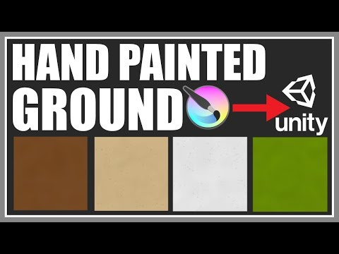 Simple Handpainted Texture For Beginners - Krita To Unity - VERY