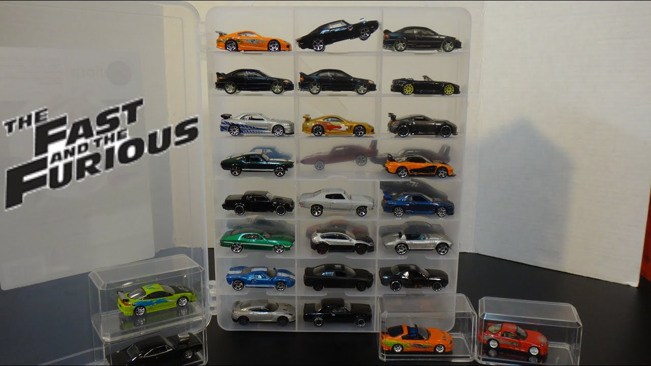 the fast and furious cars collection new case hot wheels racing champions youtube. Black Bedroom Furniture Sets. Home Design Ideas