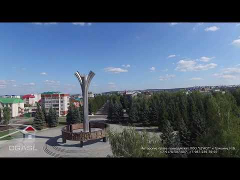 Аэросъемка города Лениногорск